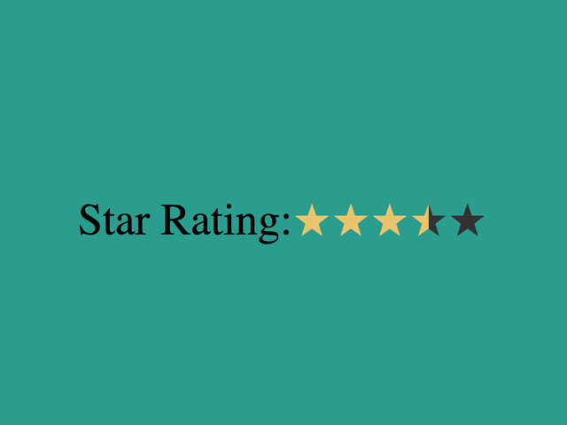 CSS Star Rating