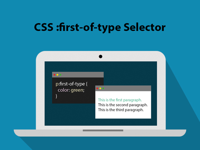 CSS :first-of-type Selector