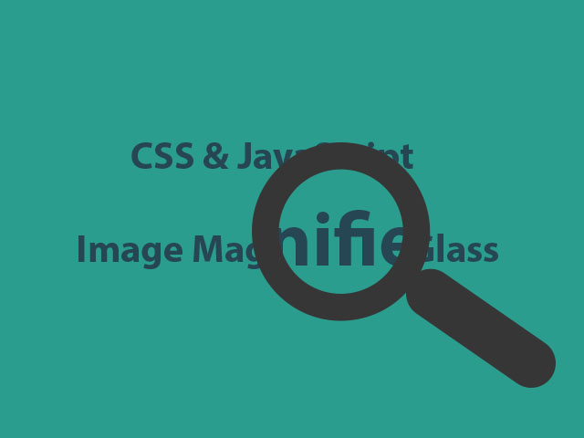 Image Magnifier Glass