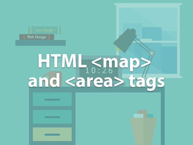 HTML map and area tags