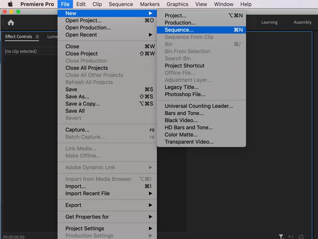 Premiere Pro slide text effect