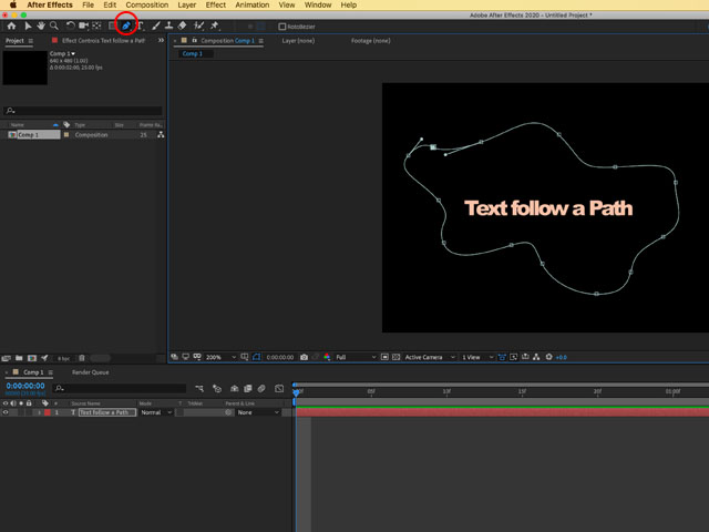 Drawing a Path After Effects