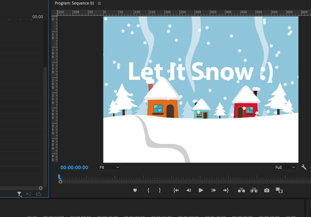 How to make slide text effect in Premiere Pro?