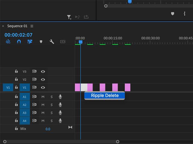 Adobe Premiere Pro Push Slide Transition Effect