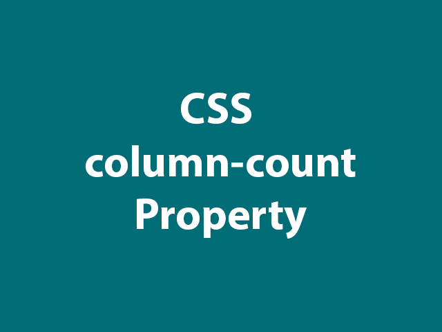 CSS column-count Property