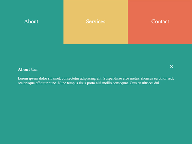 How to create an expanding grid with CSS & JavaScript?